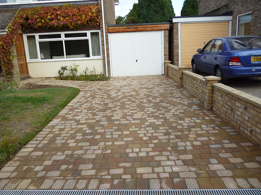 after - block paving