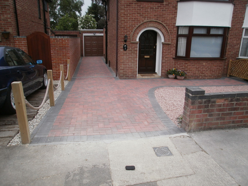 AWBS Landscaping Oxford Newly Installed Block Paved Driveway With - Front garden driveway ideas uk